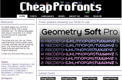CheapProFonts